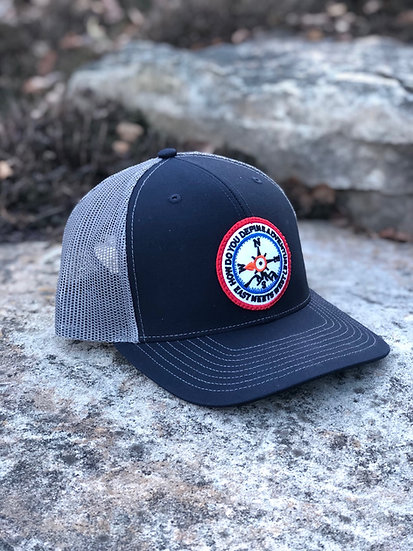 FREEDOM PATCH HAT - NAVY/GREY