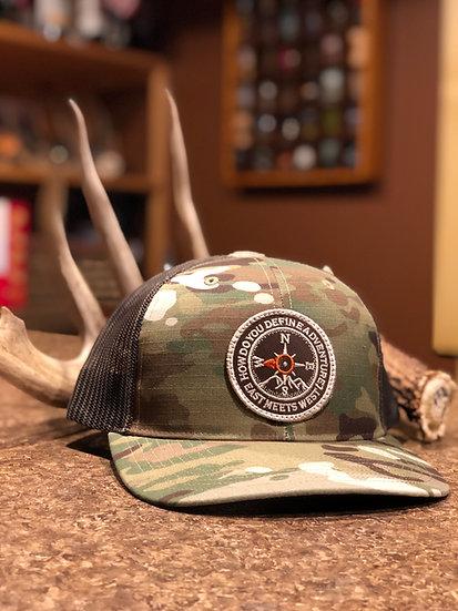 STEALTH TRUCKER HAT - MULTICAM/COYOTE BROWN