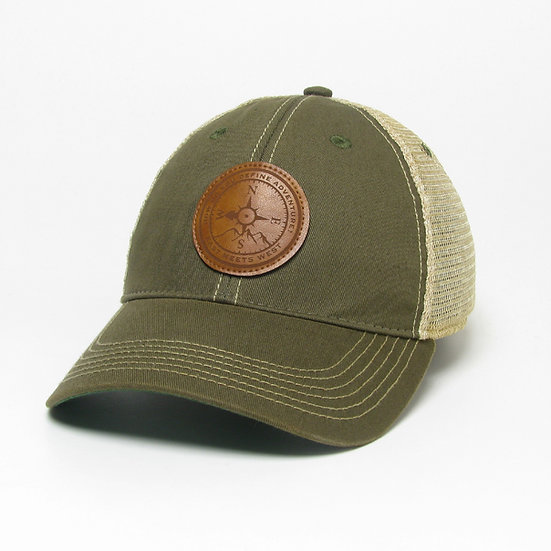 APPALACHIA PATCH HAT - OLIVE