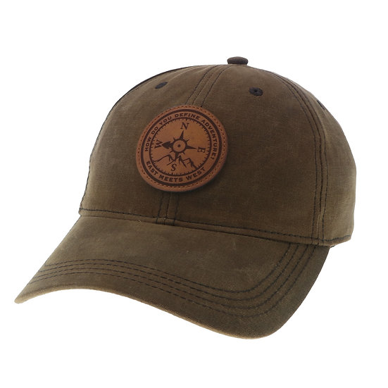 WOODSMAN HAT - BROWN