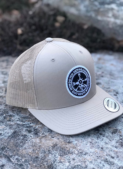 RIDGELINE TRUCKER HAT - TAN