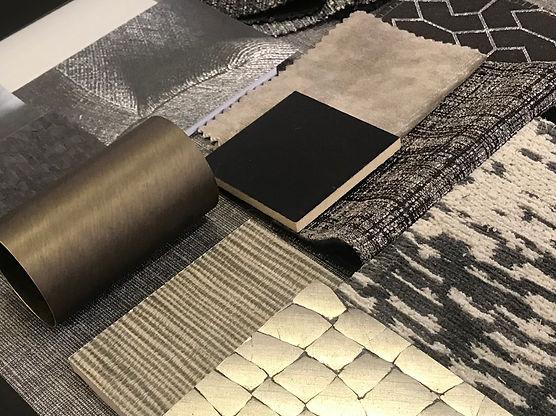 Show Home Interior Design Board