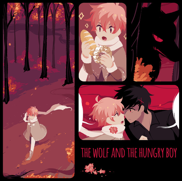 The Wolf and the Hungry Boy