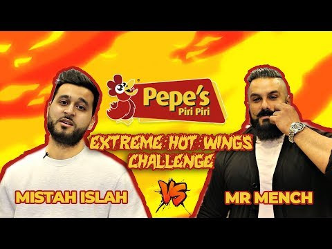 Pepe's presents Mistah Islah vs Mr. Mench Extreme Wings Challenge!