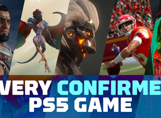 Every PS5 Game and Trailer Revealed