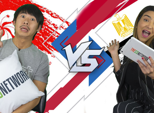 Cantonese VS Egyptian! Michael Truong goes up against Deana Hassanein in Test My Slanguage