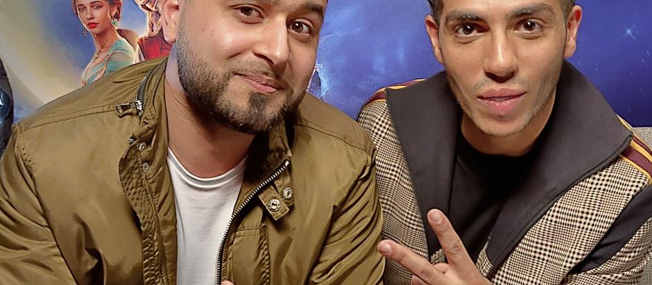 Mistah Islah Interviews Aladdin's Mena Massoud and joins UK Press Tour