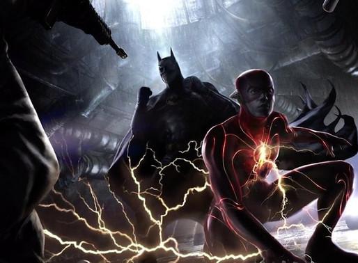 Michael Keaton's Batman & Ezra Miller's The Flash Concept Art Revealed! #DCFandome