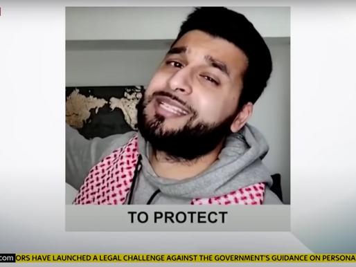 #RamadanAtHome Video with The London Mayor's Office Hits Mainstream News