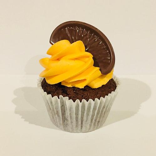 6 Chocolate Orange Cupcakes