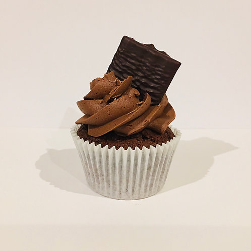 Chocolate and Mint After Eight Cupcakes