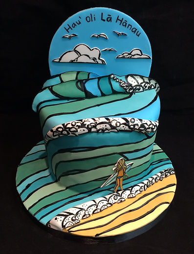 Heather Brown Inspired Handmade Cake