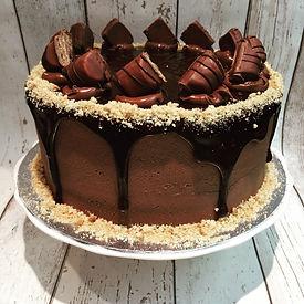 Chocolate and Hazelnut Celebration Cake Loopy Lyn's Poole Dorset