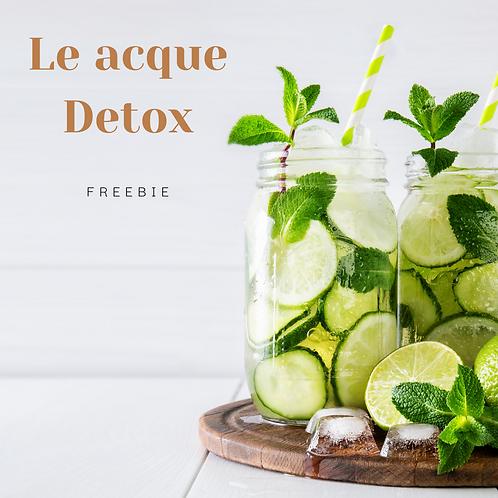 FILE GRATUITO - Acque detox