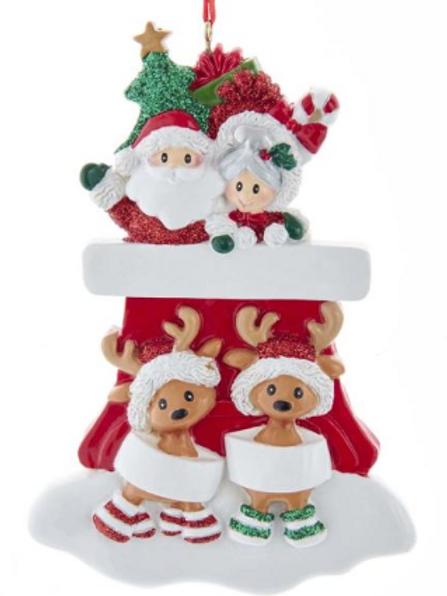 santa sled family 4