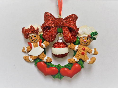 gingerbread wreath family 2