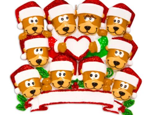 brown bear family 10