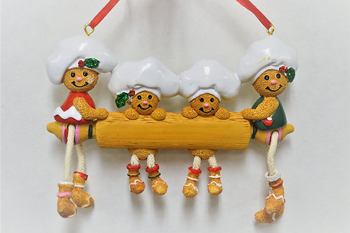 gingerbread rolling pin family 4