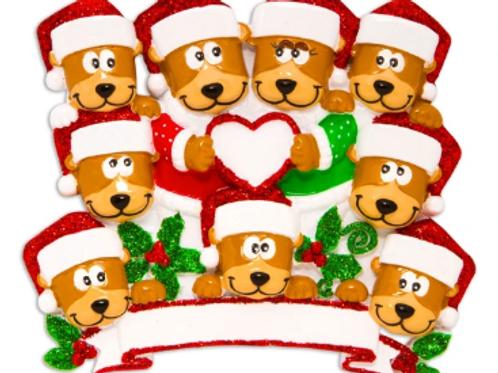 brown bear family 9