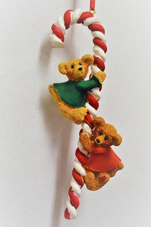 candy cane bear family 2