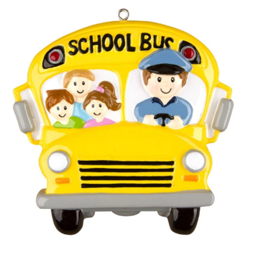 school bus with bus driver