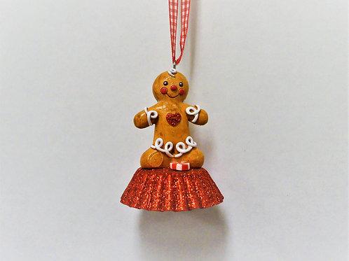 gingerbread on cupcake tin