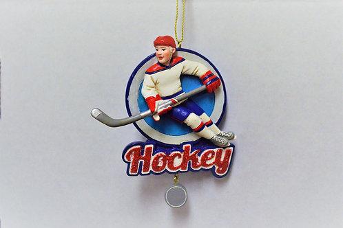 hockey circle banner