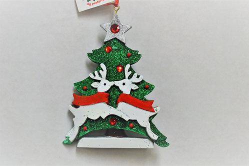 christmas tree deer family 2