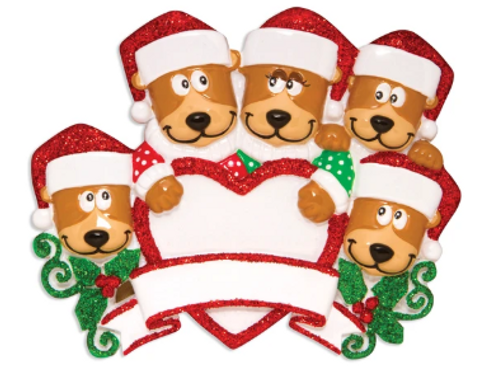 brown bear family 5