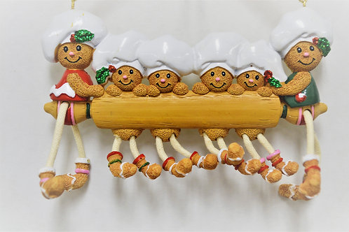 gingerbread rolling pin family 6