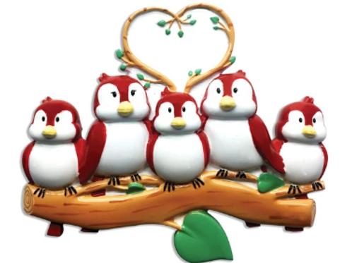bird family 5