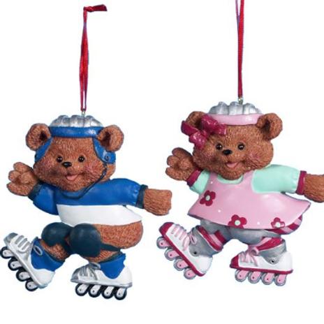 rollerblading bears