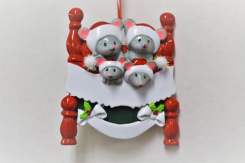 t'was the night before christmas mouse family 4