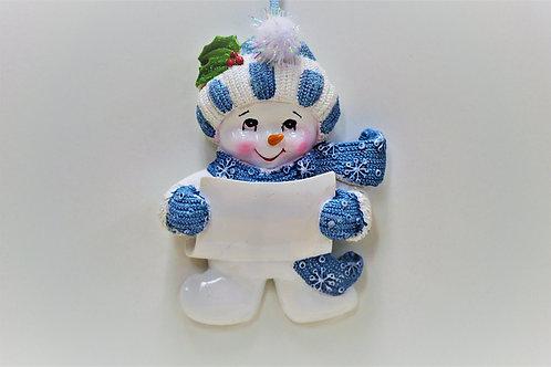 snowbaby blue hat