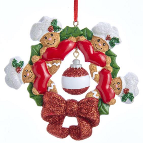gingerbread wreath family 4