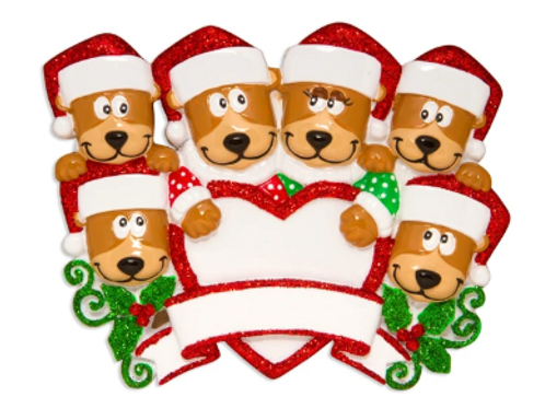 brown bear family 6