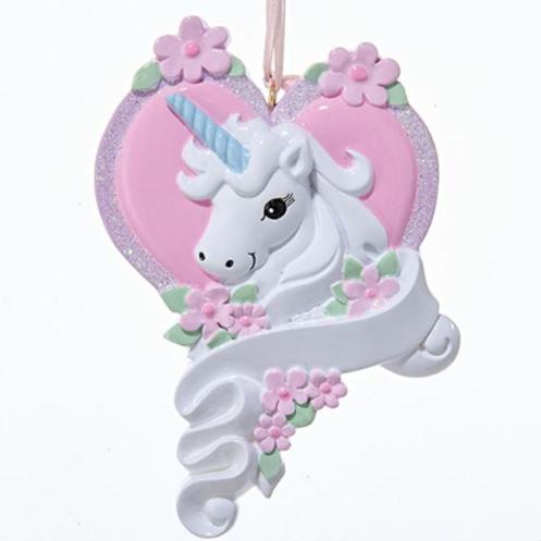 unicorn on a heart