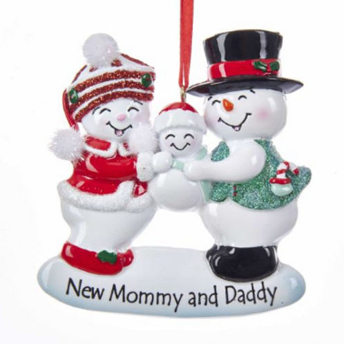 new mommy and daddy snowfamily