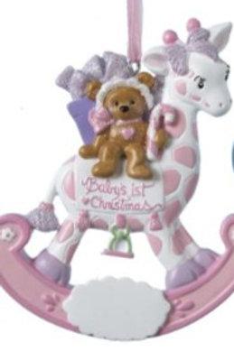 baby's first christmas giraffe