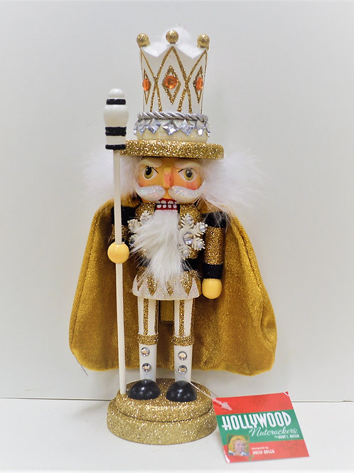 gold and silver king nutcracker