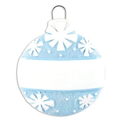 christmas ball-blue