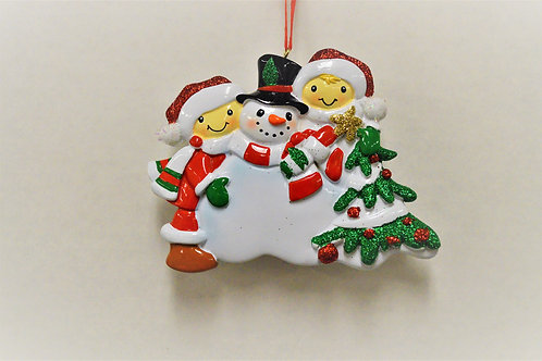 making snowman family 2