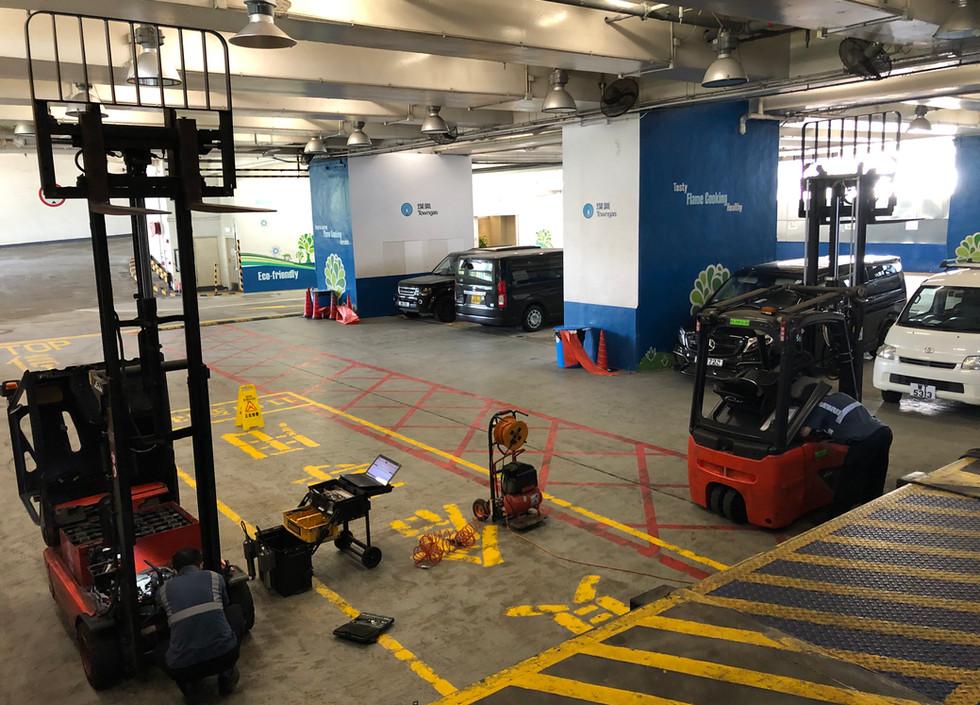 Preventive Maintenance for Counterbalanced Truck