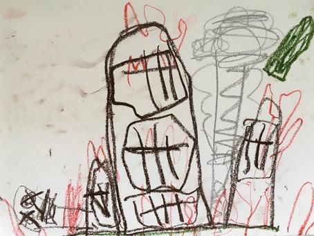 5歳児が抱く戦争のイメージ