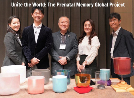 "Announcing ""Unite the World: The Prenatal Memory Global Project"" at Chubu University"
