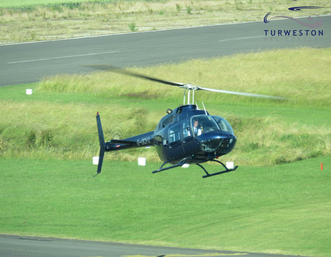 Turweston Helicopters arriving back to b