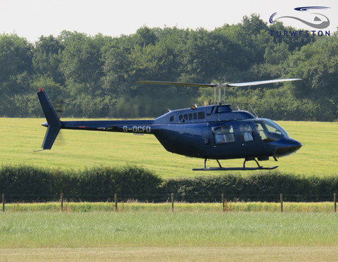 Turweston Helicopters arriving at Turwes