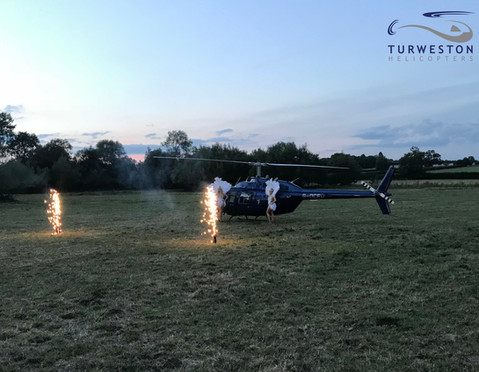 Turweston Helicopters birthday flight.jp