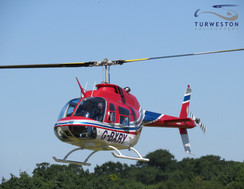 Turweston Helicopters flying G-BXRY for