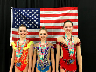 Three NWR Level 9 gymnasts become Level 10 at L9 Classics